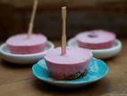 Frozen-yoghurt gebakjes (glutenvrij/opties voor vegan)