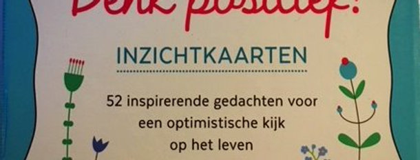 Inzichtkaarten; Denk positief!