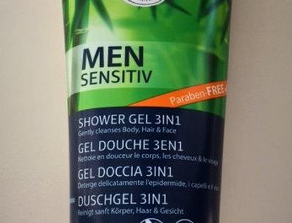 Lavera MEN sensitiv douchegel 3 in 1 200ml