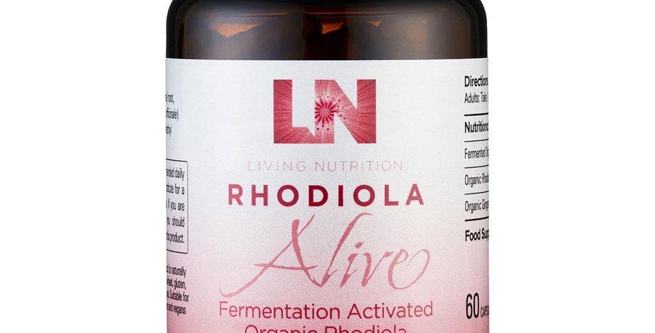 Rhodiola Alive Living Nutrition