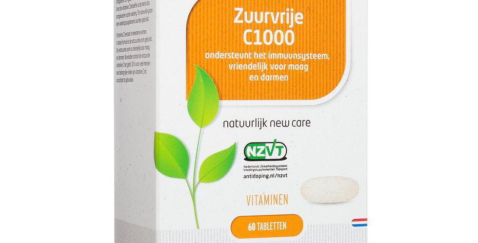 Vitamine C 1000 ZUURVRIJ 60 capsules