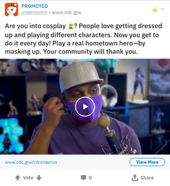 Reddit Gaming Ad (Covid-19)