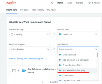 Calendly - Salesforce Automation