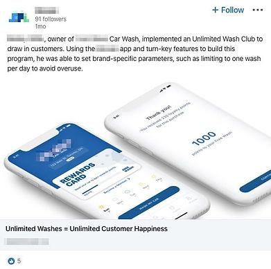 Linkedin ad screenshot example