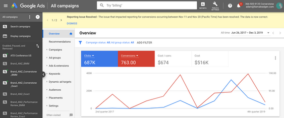 Google Conversions From Lead Gen Campaign