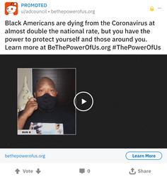 Reddit Black Lives Matter Ad