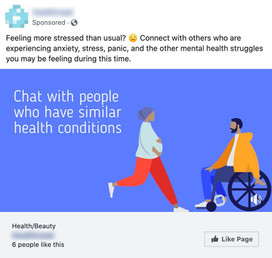 Facebook Page Like Ad