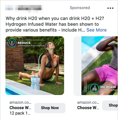 Facebook In-Article Ad