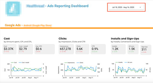 Google Ads App Install Campaign Reporting