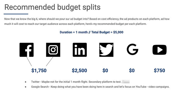 Marketing Budget Allocation Infographic