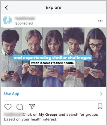 Instagram Explore Ad