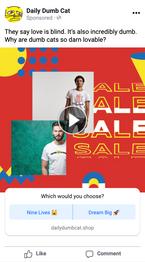 Facebook Poll Ad