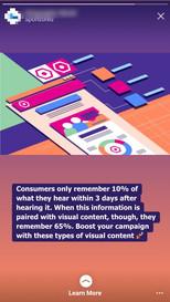 Instagram Swipe Up Mobile Ad