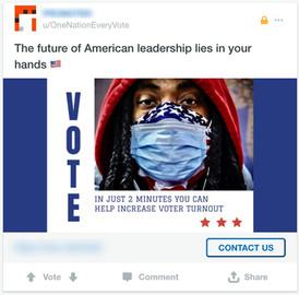 Reddit Vote Ad