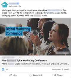 Facebook Webinar Registration Ad (High Engagements)