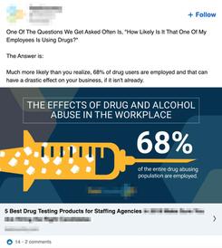 LinkedIn - Pharma Ad 2