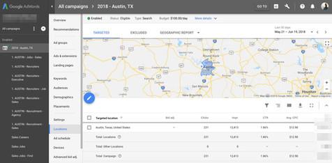 Google Ads Geo Targeting