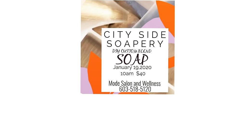 DIY Custom Blend Soap Making W/ City Side Soapery