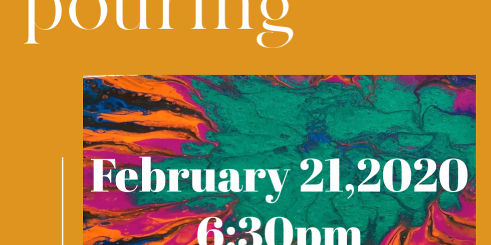 Intuitive Paint Pouring with Melissa