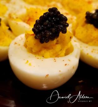 I'm a Devil for caviar.