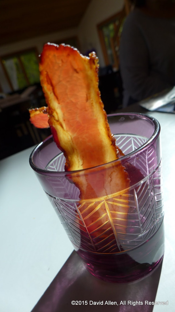 Bacon rules in backlight