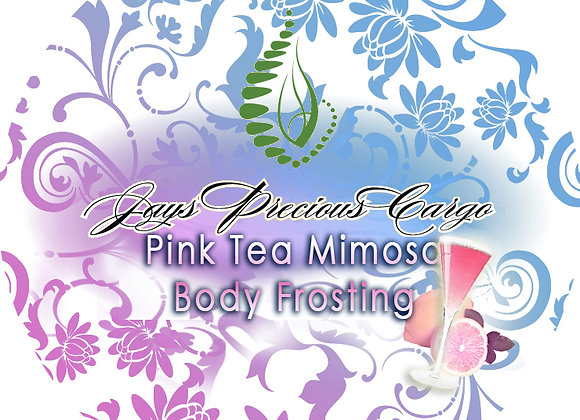 Pink Tea Mimosa Body Frosting
