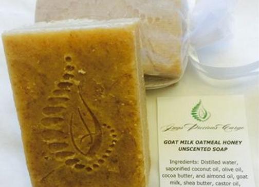 Goat Milk Honey Soap (unscented)