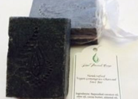 Vegan Lemongrass Charcoal Soap