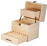 3 Tier 59 Bottles Essential Oil Wood Box