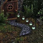 Glowing Acorn Fairy Light set