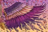 Shovava Blush Wings scarf