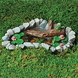 Frog Lillypad fairy garden pond