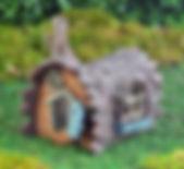 Fiddlehead Fairy Log House