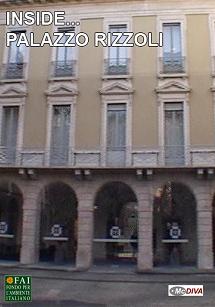 Palazzo Rizzoli Versace Milano documentario per il FAI prodotto da McDIVA regia Marco Fornari