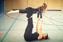 Kind, Akrobatik,Körpertraining,Grundschule