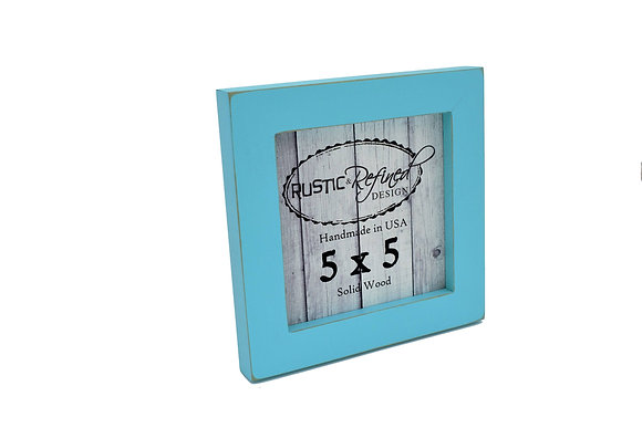 """5x5 1"""" Gallery Picture Frame - Turquoise"""