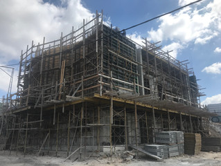Bald im Rohbau fertig. Soon finished rough construction