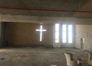 Innenraum der Kirche Inside the Church