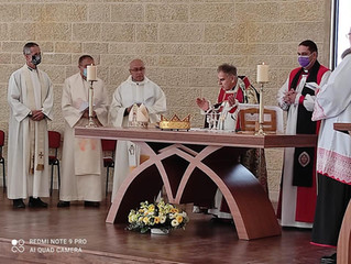 Einweihung der Kirche - Consecration of Christ the King Church, Tarshiha