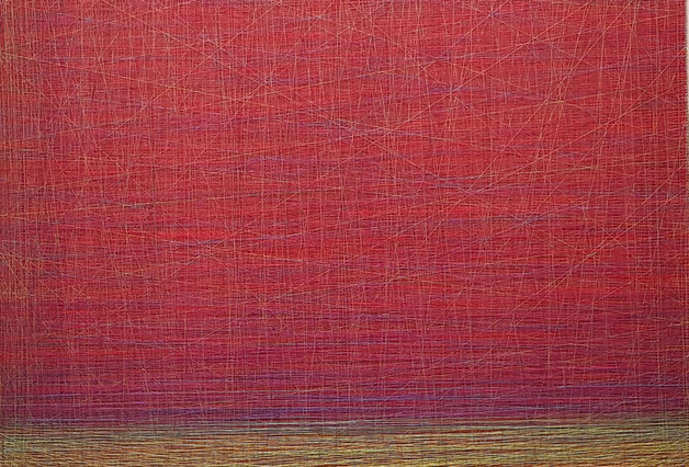 abyss string 59x59inch  Mixde Media  201