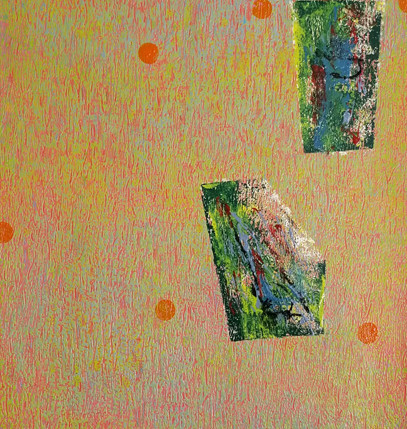 25x61 Oil based paint. Stratified.271.