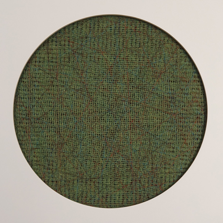 abyss string 13x13inch  Mixde Media  201