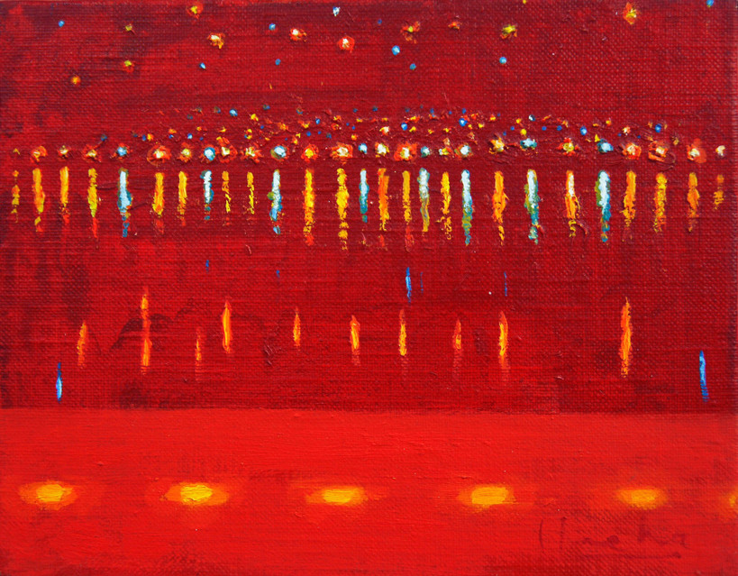 Festival of light 5 2005 Oil on canvas 9