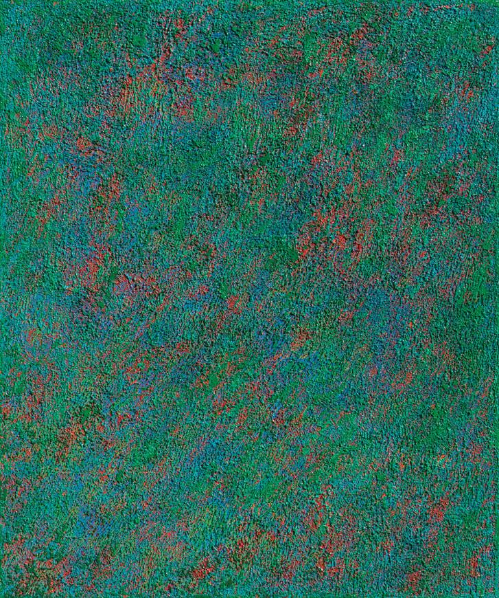 Green, 60.6×72.7cm