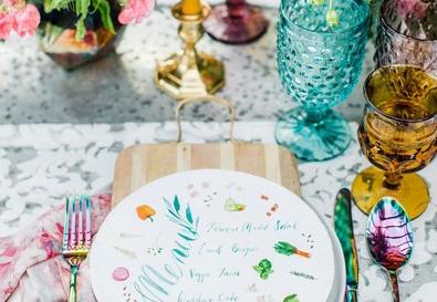 6 Expert Tips to Create Your Spring Wedding Menu