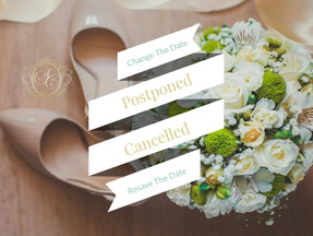 """I Thought We Would Be Done With This By Now"" (Should I Cancel Or Postpone My Wedding)?"