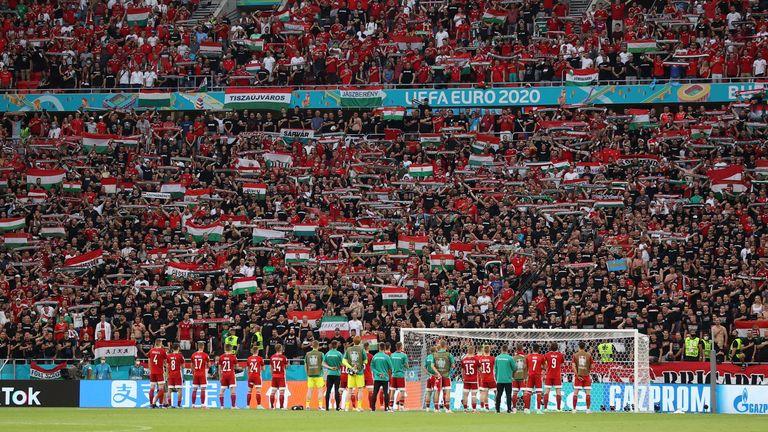 EURO 2020 Hungary vs Portugal at Puskás Aréna