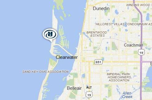 Hilton Clearwater Map.JPG