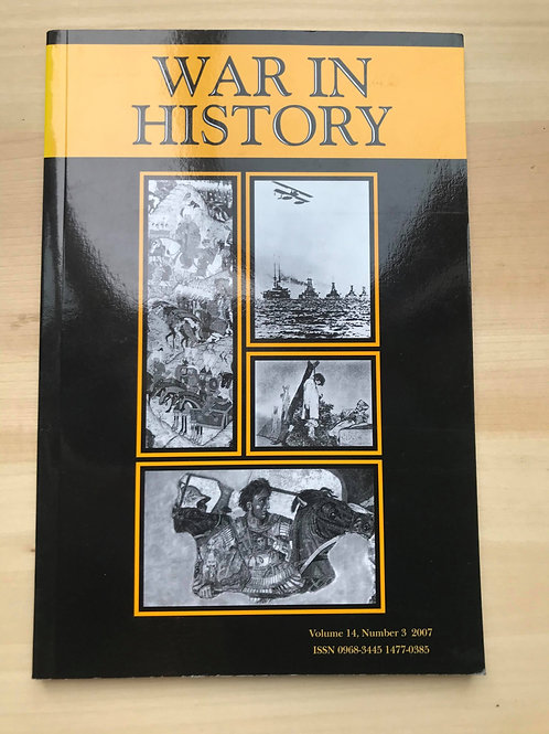 War in History (Vol 14, No 3) 2007