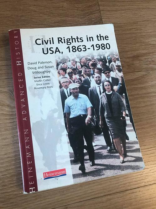 Civil Right in the USA, 1863-1980